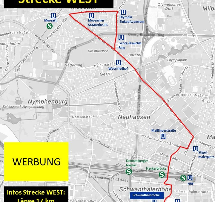 Strecke West